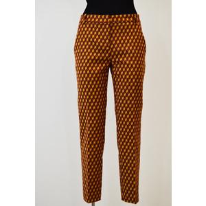 Pantalone paletta Donna Pinko bordeaux