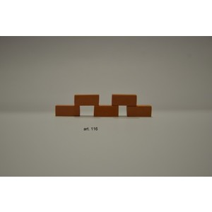 Mattoncini terracotta 100 Pz