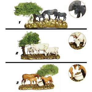 3 Animali con albero