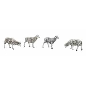 Pacchetto di 4 pecorelle 12cm (cod 426 1223 00)
