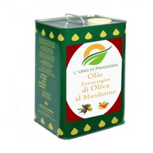 Olio Evo Aroma Mandarino 3 L