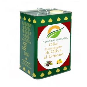 Olio Evo Aroma Limone 5 L