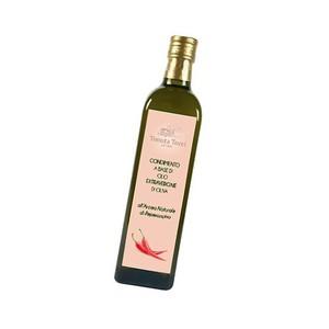 Condimento a base di olio extravergine di oliva peperoncino 0,25L