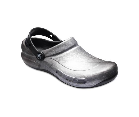 Crocs Bistro Metallic Silver  antiscivolo