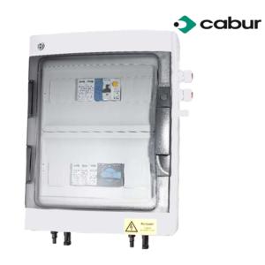 Centralina Fotovoltaica DC/AC - fino a 6 kW - 2 Stringhe Ingresso - 1 Stringa Uscita - Scaricatore 600 VDC - CABUR