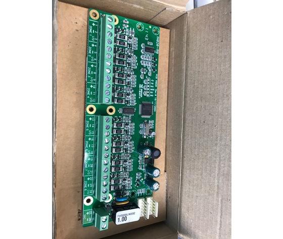 64600281 EBZ08C Scheda espansione a 8 zone max 32 rivelatori per linea.