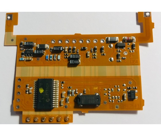 PCB WITH LCD B 50/1  SENNHEISER SD085769