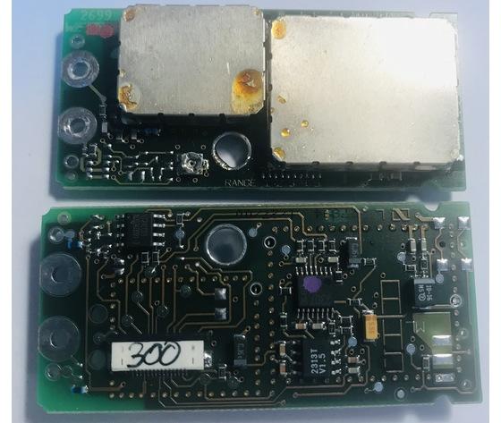 PCB RF 790/822 MHZ e SR 300 SENNHEISER SD081413