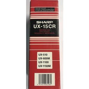 Originale Sharp UX-15CR Nastro a trasferimento termico per F 1500; FO 1450, 1460, 1470, 1500, 1530, 1650, 1660, 1850; UX 1000, 1100, 1150, 1300, 1400, 500, 510, 600