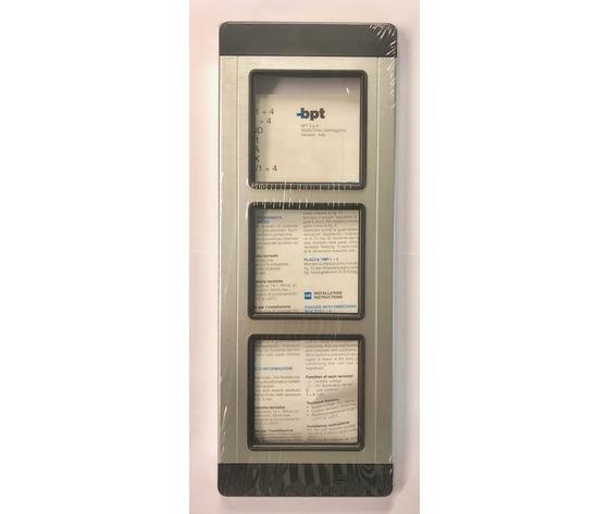 TMP/3 AG - PLACCA 3 MODULI SILVER - 60060300