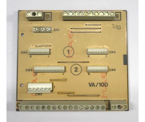SCH. B VA/100 - SCHEDA BASE -  68109200