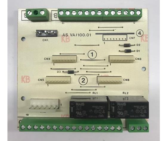 SCH.B VA/100.01 - SCHEDA BASE - 68115200