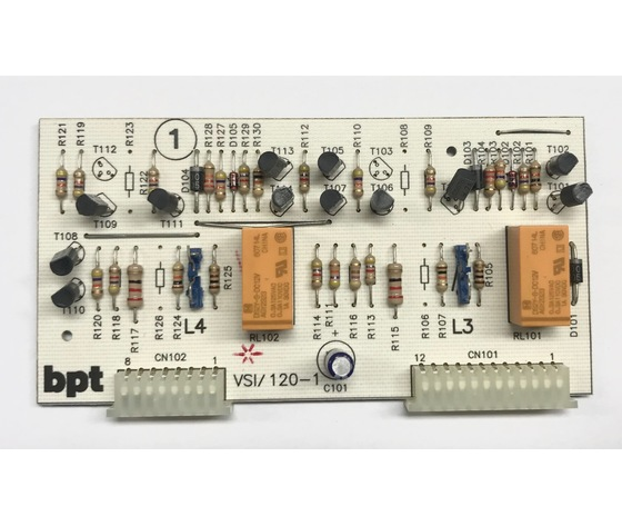 SCH. 1 VSI/120 SCHEDA COMPL. PER VSI/120 68110300