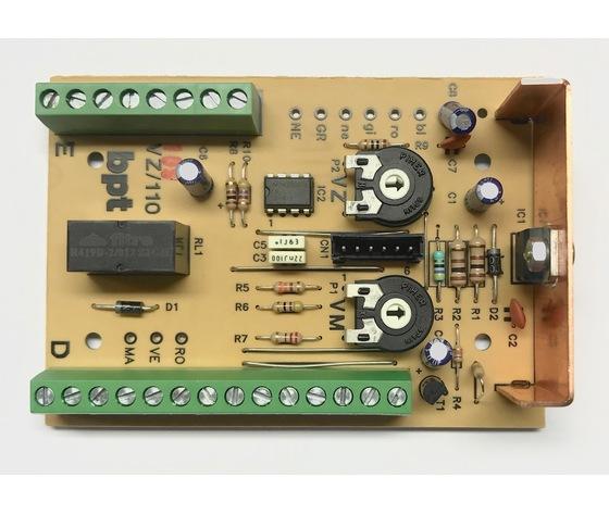 SCH. VZ/101 SCHEDA COMPL. VZ/101-106 68111600
