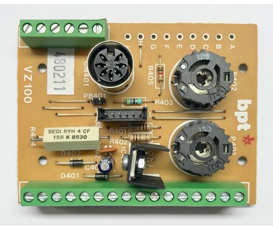 SCH. VZ/1-6 - SCHEDA COMPL. VZ/1...6 - 68101600
