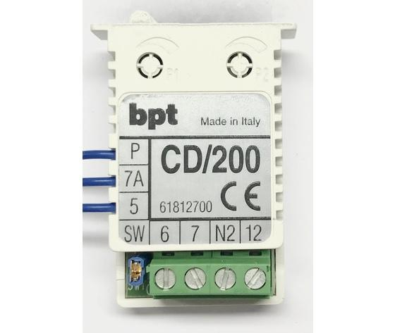 CD/200 - CODIFICATORE/DECODIF. CHIAMATE SERIE 200 - 61812700