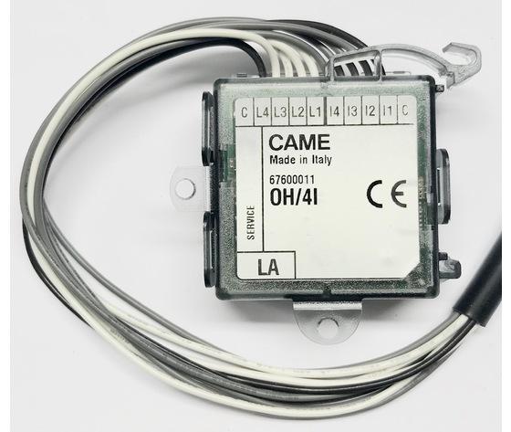 OH/4I MODULO 4 INGR. + 4 USCITE LED 67600011