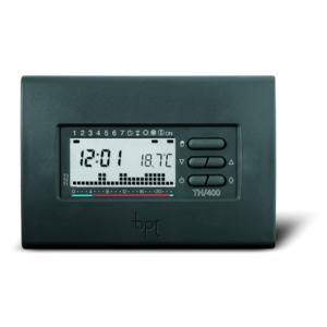 TH/400 GR 69404300  Cronotermostato digitale settimanale, da parete, colore grigio