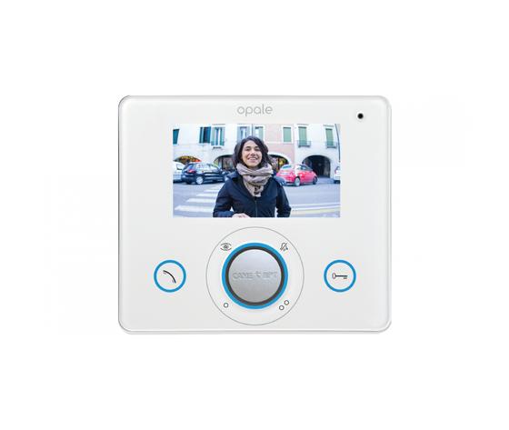 OPALE W WHITE VIDEOCITOFONO VIVA-VOCE 62100250