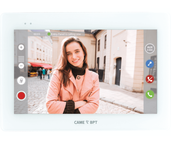 XTS 7IP WH WHITE WIFI VIDEOCITOFONO VIVA-VOCE IP 840CH-0060