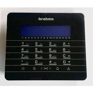 PXWKTN TASTIERA RADIO DA PARETE NERA BRAHMS 64320080