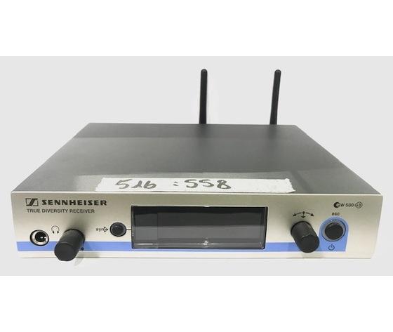 EW 500 G3 SENNHEISER TRUE DIVERSITY RECEIVER EM 500 RICEVITORE RADIOMICROFONO