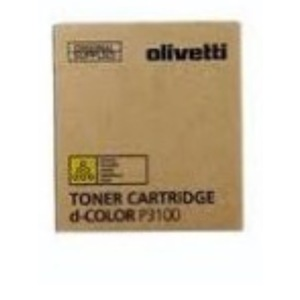 Olivetti toner B1122 giallo Yellow d-Color P3100