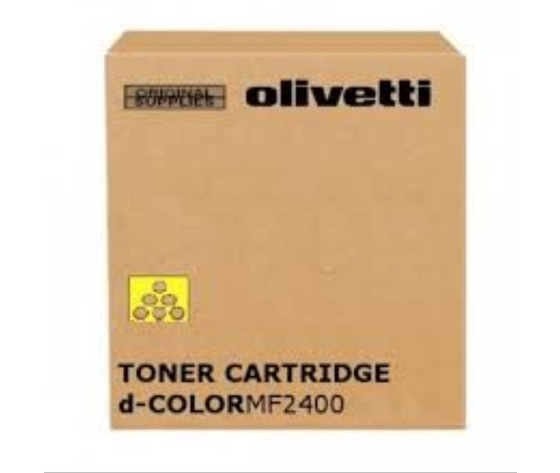 Olivetti toner B1008 giallo Yellow d-Color MF2400