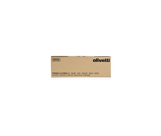 Olivetti Toner B0446 Nero-Black d-Copia 16/16MF/200/200MF/1600/2000