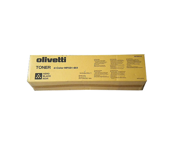 Olivetti Toner B0818 Nero Black d-Color MF551/651