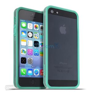 Meliconi Custodia per iPhone 5/5S Bumper Mint Green