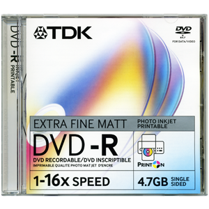 TDK Dvd-R 4.7Gb 16X 10 Disc