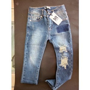 JEANS STRAPPATO MY ROCK M609
