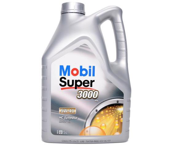 Mobil Super 3000 X1 5W40 lt.5