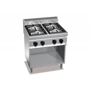 Cucina BERTO'S MACROS 700 modello G7F4M a gas