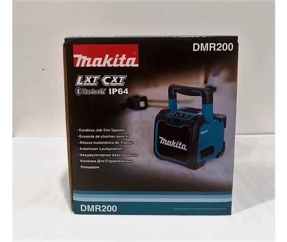 MAKITA DMR200 Altoparlante Bluetooth 10.8-18V