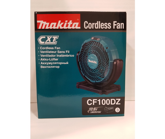 MAKITA ventilatore AC/DC 10,8v CF100DZ