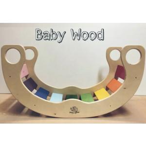 ROCKER BABY WOOD ARCOBALENO