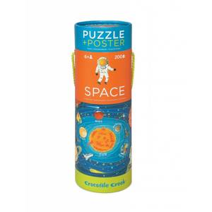 GIOCO EDUCATIVO - PUZZLE + POSTER SPACE