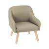 Poltrona amadeus les petits fauteuil scandinave hanz