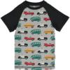 Tshirt traffic grigia