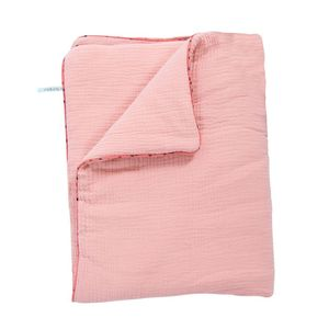 COPERTA PLAID ROSA
