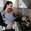 Marsupio ergonomico regolabile neko switch baby size lycia ayaz3