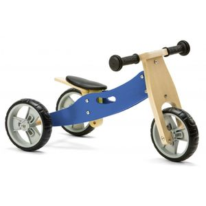 MINI BIKE BALANCE 2 IN 1 - BLU