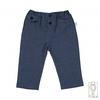 Pantalone lungo in lino e cotone