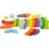 3425 legler small foot puzzle krokodil abc c
