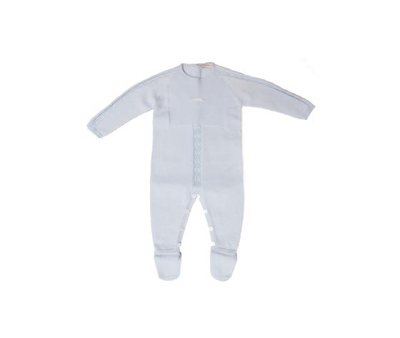 TUTINA IN COTONE - COLOR AZZURRO BABY
