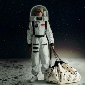 SACCO TAPPETO PORTAGIOCHI - 2 IN 1 - SPACE