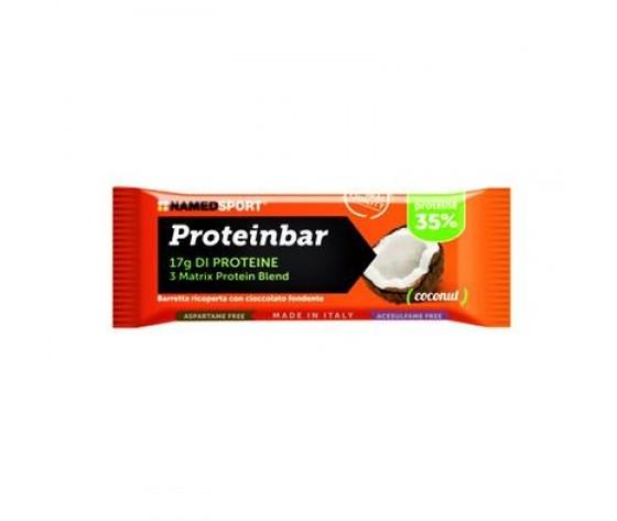 named proteinbar cocco barretta proteica 50g (17 g prot)