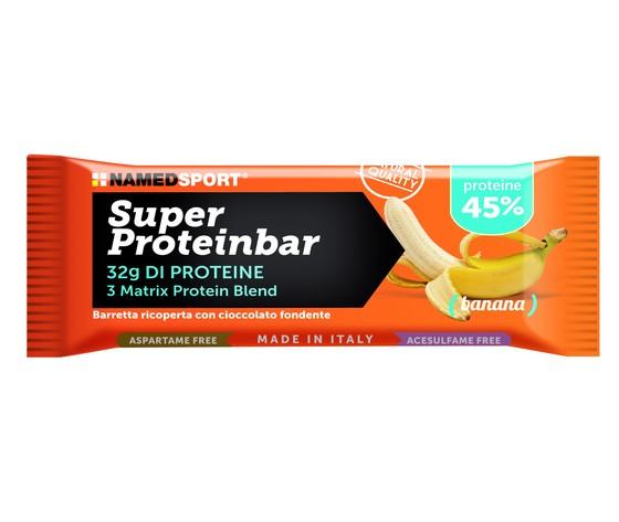 named superproteinbar barretta proteica banana 70g (32g prot cad)